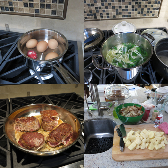 First Meals with the New Kitchen